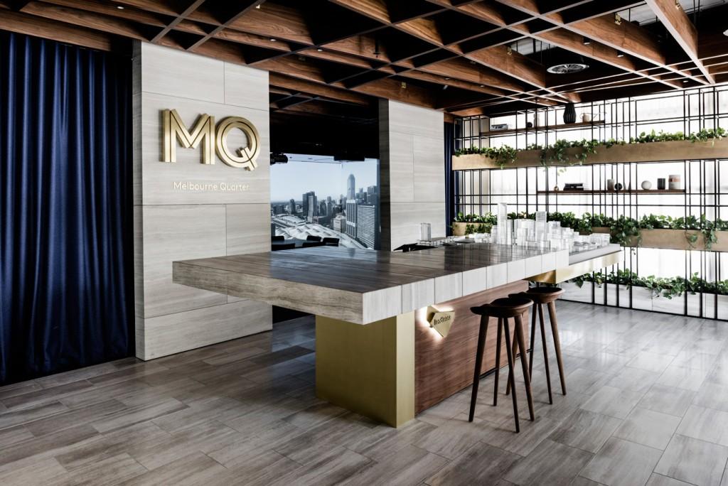 Melbourne quarter marketing suite 2016 interior design for Interior design recruitment agencies melbourne